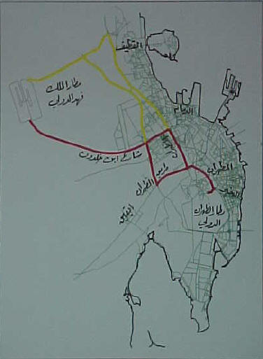 Road Map to KFIA, King Fahad International Airport - Dammam - Saudi Dammam Saudi Arabia Map on